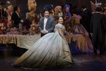 Ekaterina Siurina and Charles Castronovo